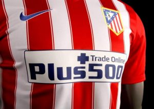Atletico Madrid e Plus500