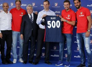 atletico madrid plus500 sponsor