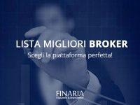 Lista dei Migliori Broker Online – Forex, CFD, Opzioni Binarie