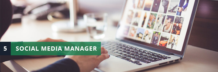 lavoro social media manager