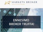 Marketsbroker.com è sicuro? Ecco l'ennesimo Broker Truffa!