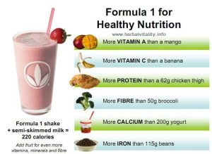 ingredienti prodotti herbalife