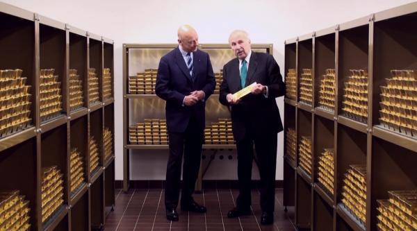 bullion vault oro