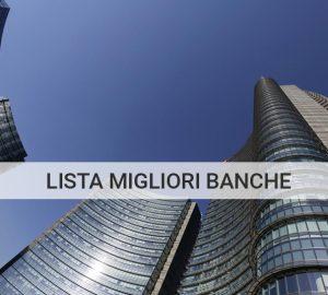lista migliori banche