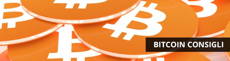 bitcoin consigli