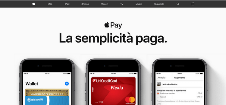 homepage apple pay