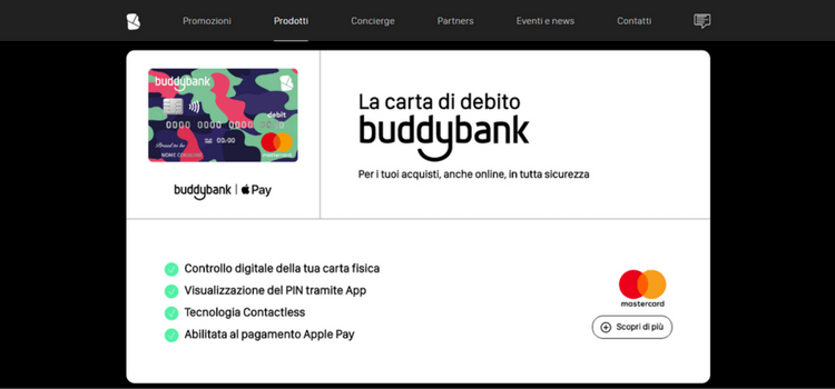 homepage buddybank love