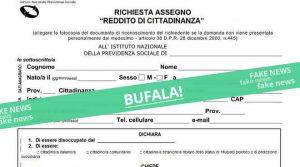 reddito cittadinanza bufala