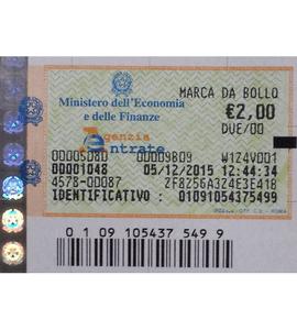 marca da bollo due euro