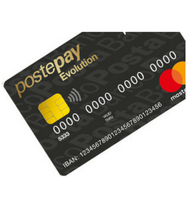 postepay evolution card