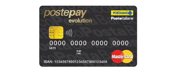 postepay evolution iban