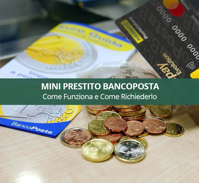 mini prestito bancoposta
