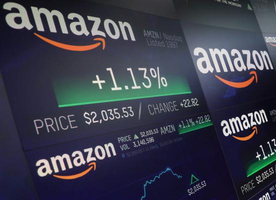 trading azioni amazon