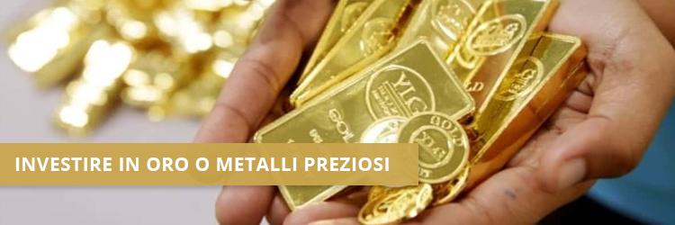 investire in oro inflazione