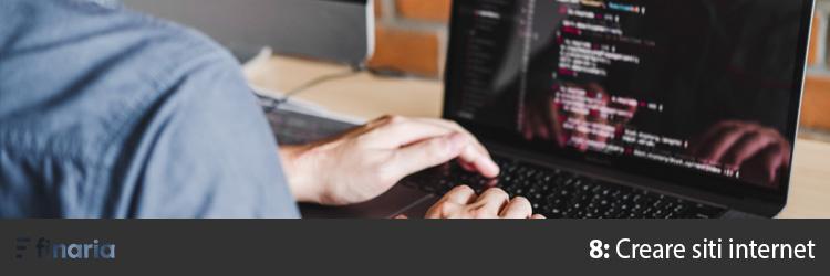 lavoro online creare siti web