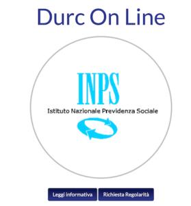 durc online inps