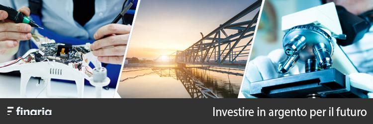 investire in argento per il futuro