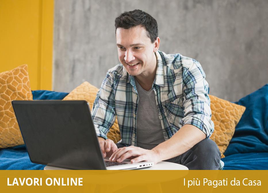 lavori online più pagati