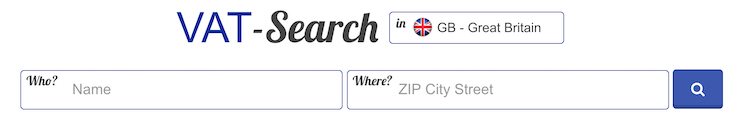 ricerca partita iva internazionale
