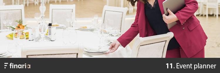 attività redditizie event planner