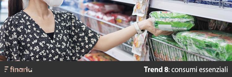 previsioni di mercato consumi essenziali