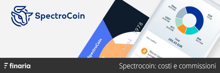 spectrocoin costi commissioni