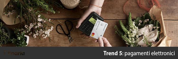 nuovi trend economici pagamenti elettronici