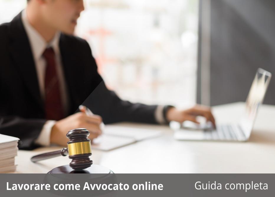 lavorare guadagnare avvocato online