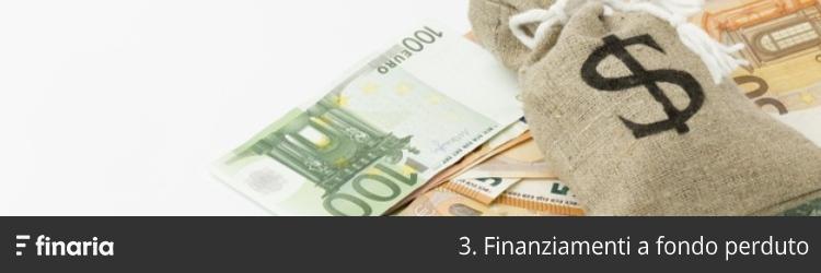 finanziamento fondo perduto
