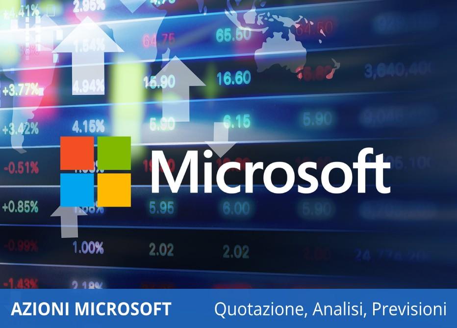 azioni microsoft