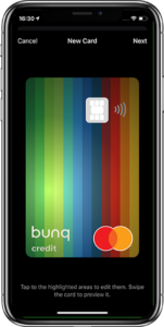 bunq travel card