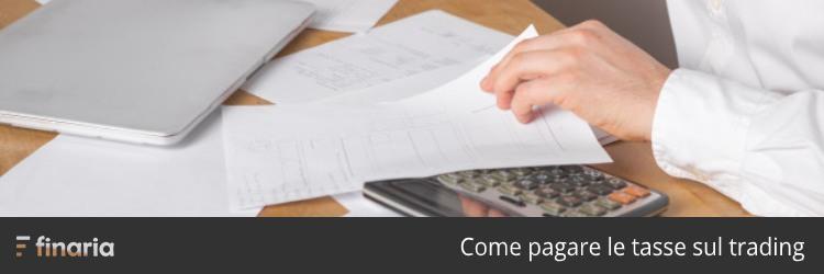 come pagare tasse trading online