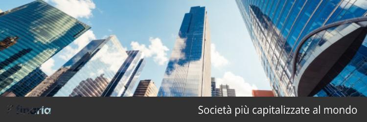 Società più capitalizzate al mondo