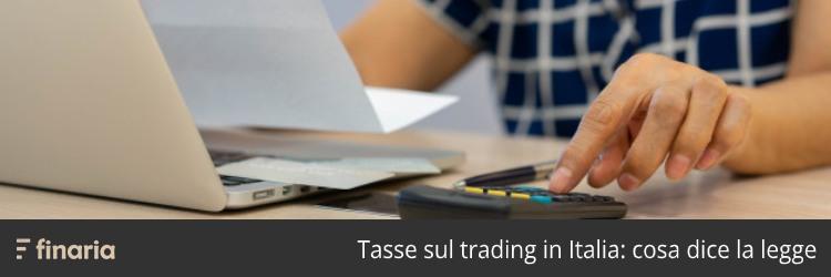 tassazione trading italia