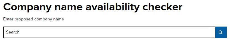 company name checker