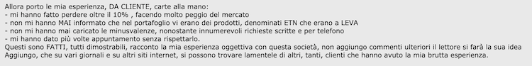 fisher investments italia opinioni negative
