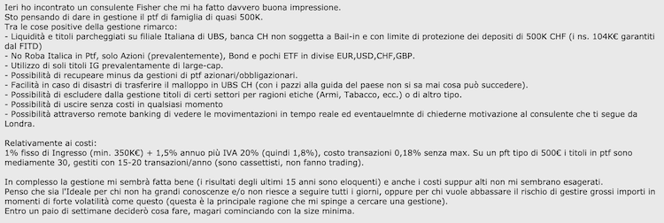 fisher investments italia opinioni