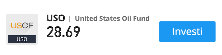 uso trading petrolio etf