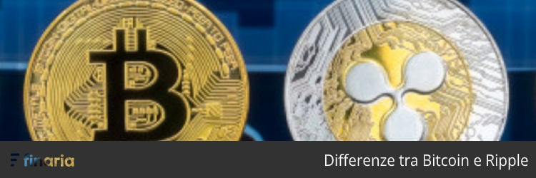 ripple bitcoin differenze