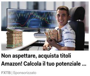 trading amazon con 200 euro