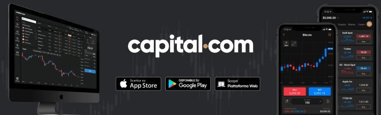 capital.com app per investire piccole somme