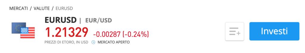 eur usd trading