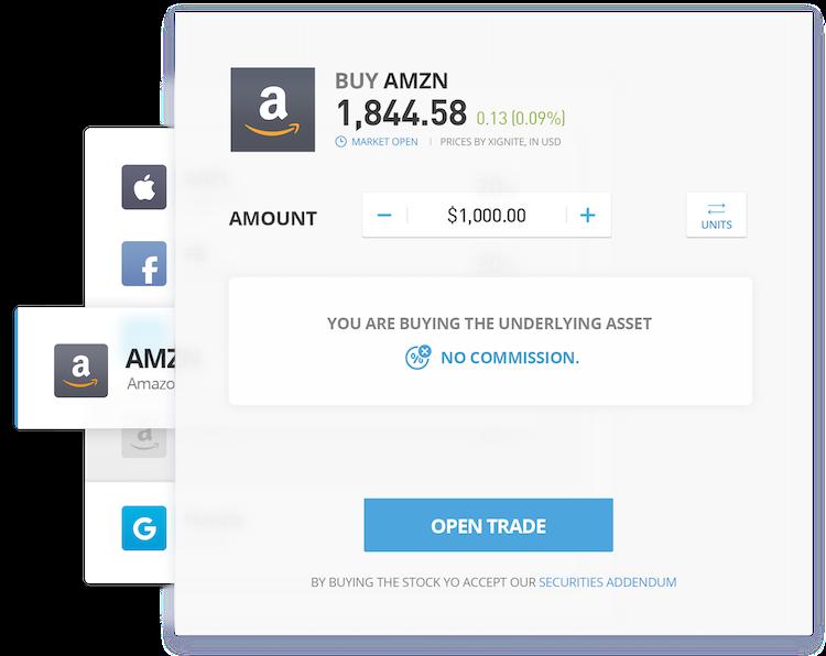 piattaforma investimenti amazon