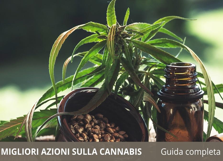 Migliori azioni sulla cannabis