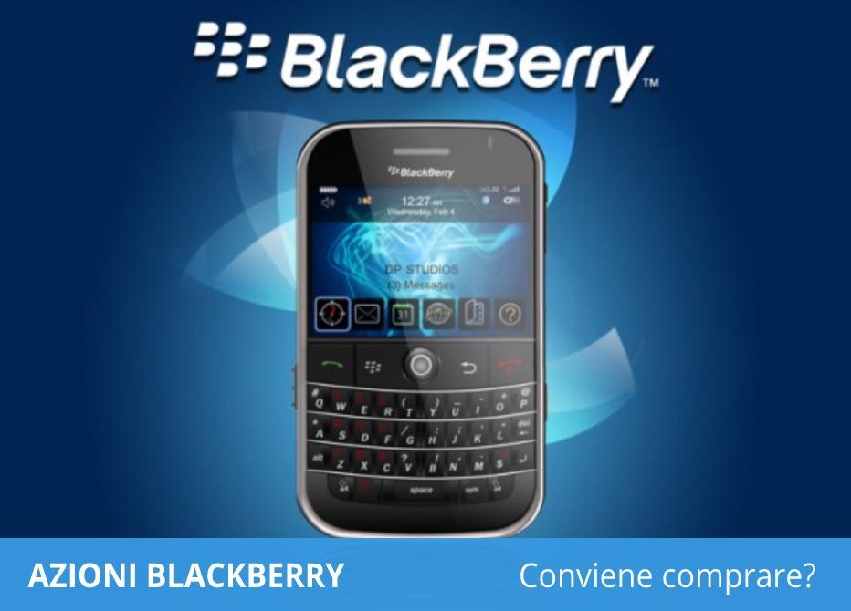 azioni blackberry