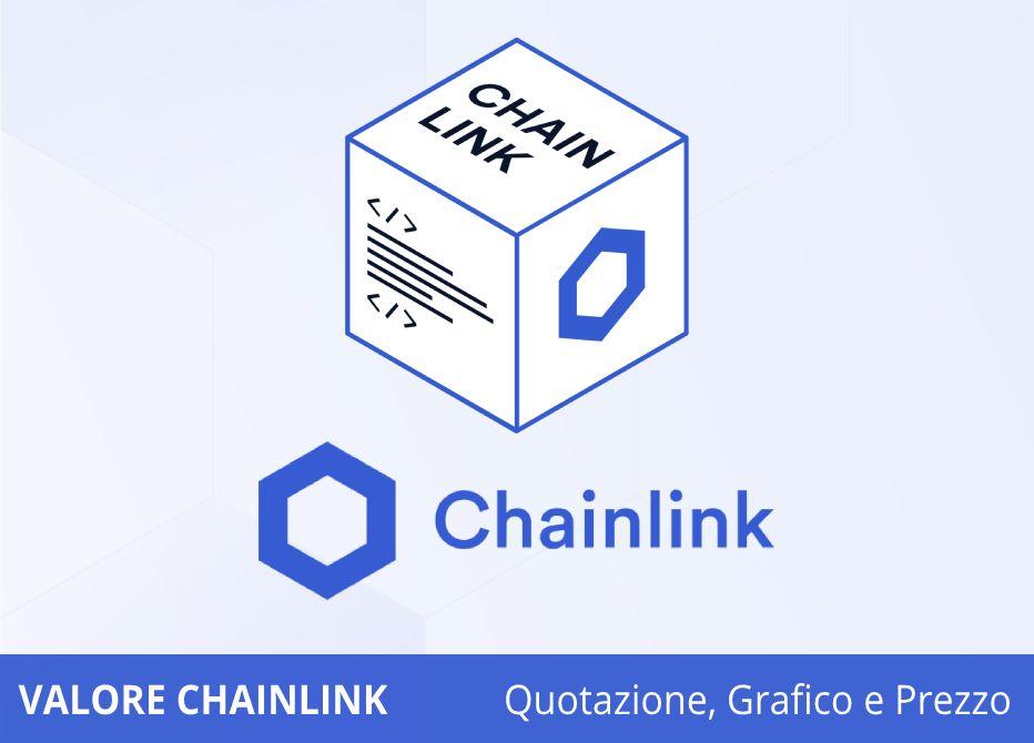 chainlink valore