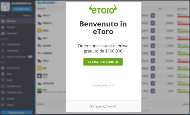 eToro Broker Simulator