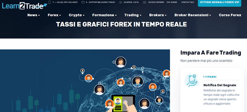 segnali forex learn2trade