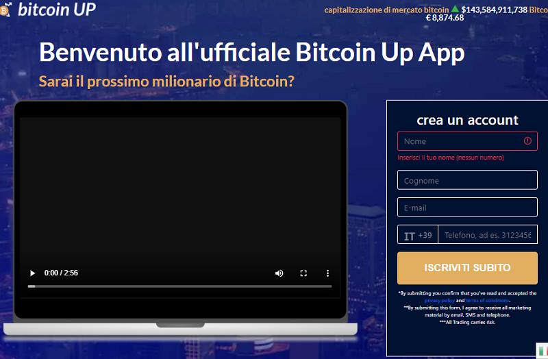 bitcoin up come funziona