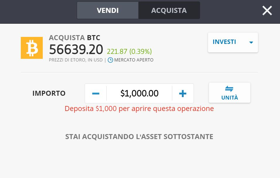 etoro bitcoin